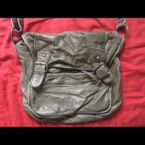Handbags - Grey messenger/shoulder bag